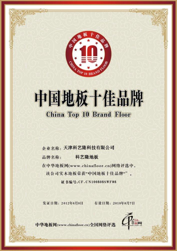 中国十佳品牌
